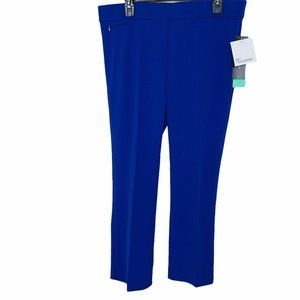 89th MADISON WOMEN PANTS DAZZLING BLUE SIZE PS NWT